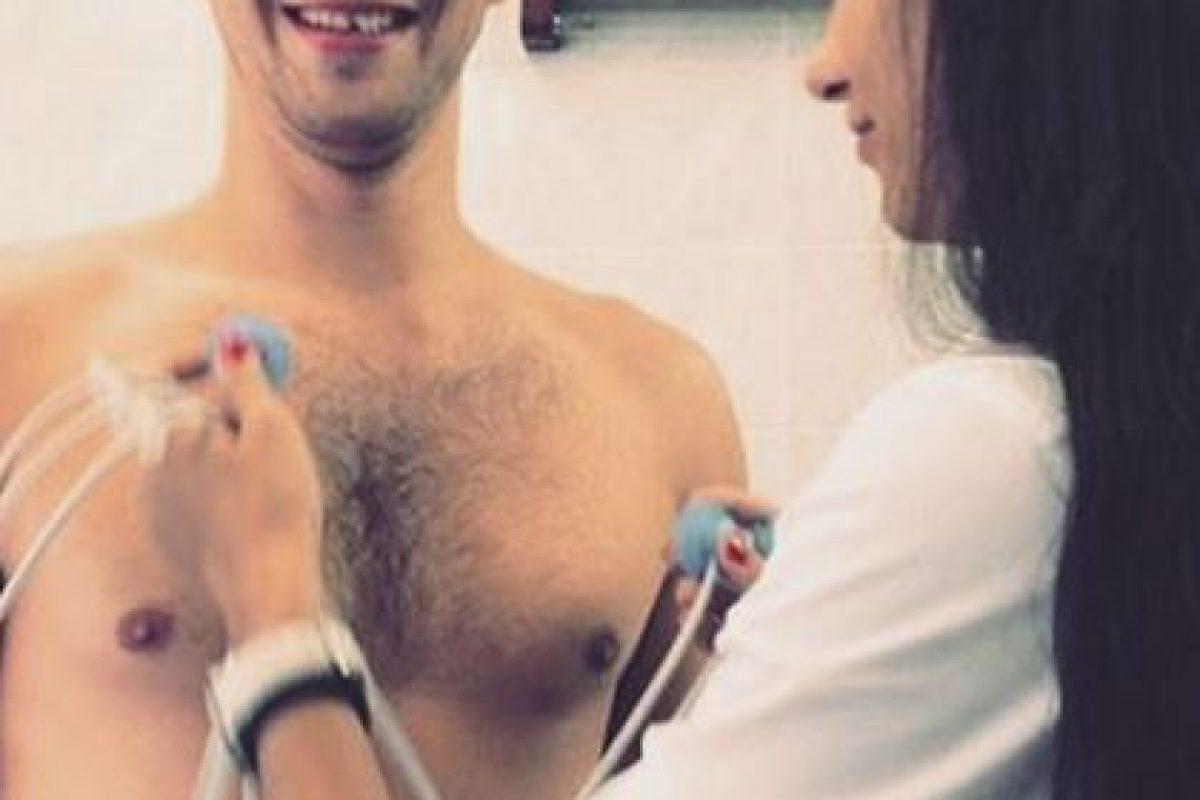 Gameeva se volvió viral en las redes sociales, luego de que practicara los exámenes médicos a los futbolistas del Spartak para el inicio de la nueva temporada de la Liga Premier de Rusia. Foto:Vía instagram.com/gameeva_viktoriya