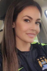 Fue modelo de Playboy Foto:Vía instagram.com/cleatsandcleavage