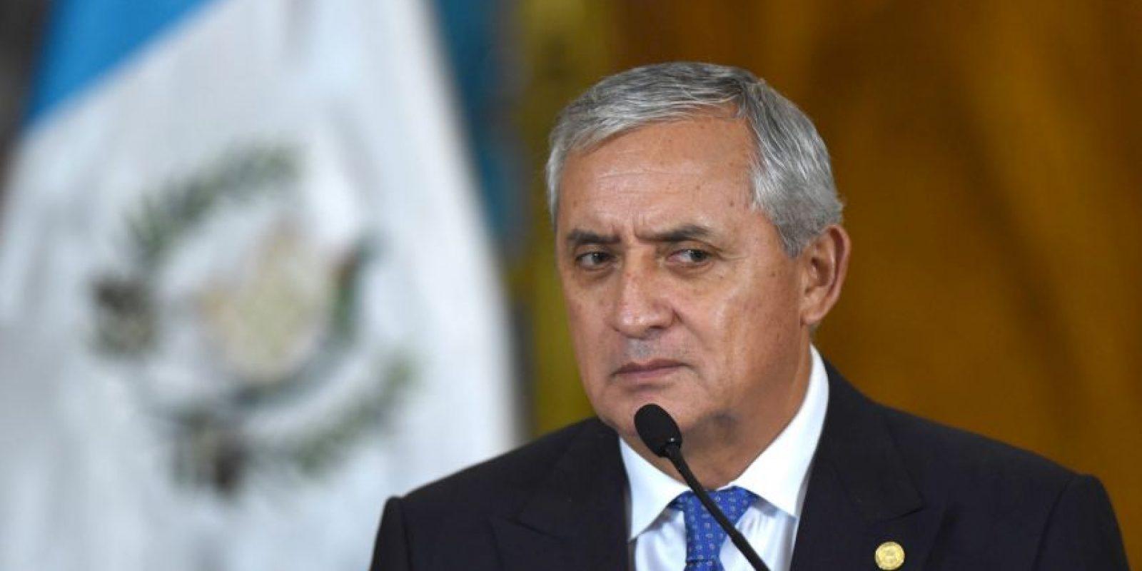 Durante esta madrugada, Otto Pérez Molina presentó su renuncia a la presidencia del país Foto:AFP