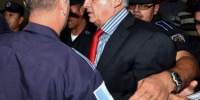 Fotos: Reaparece expresidente de Guatemala en los tribunales