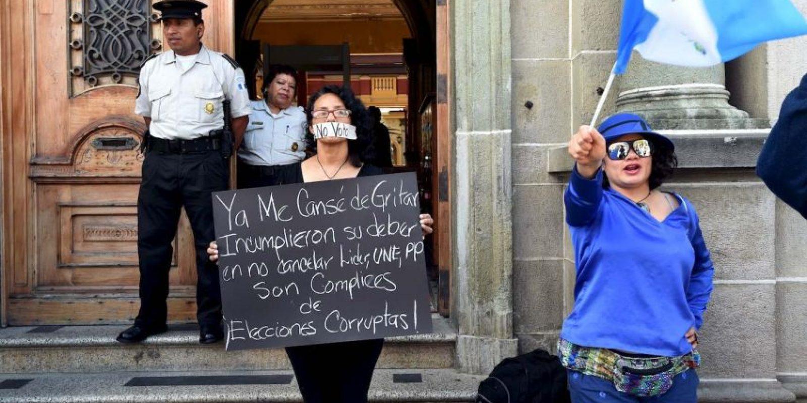 """Se le acusó de participar en el caso de corrupción """"La Linea"""" Foto:AFP"""