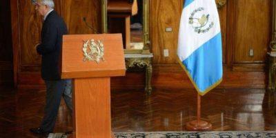 Tras renuncia, Otto Pérez critica el trabajo del MP y de la CICIG