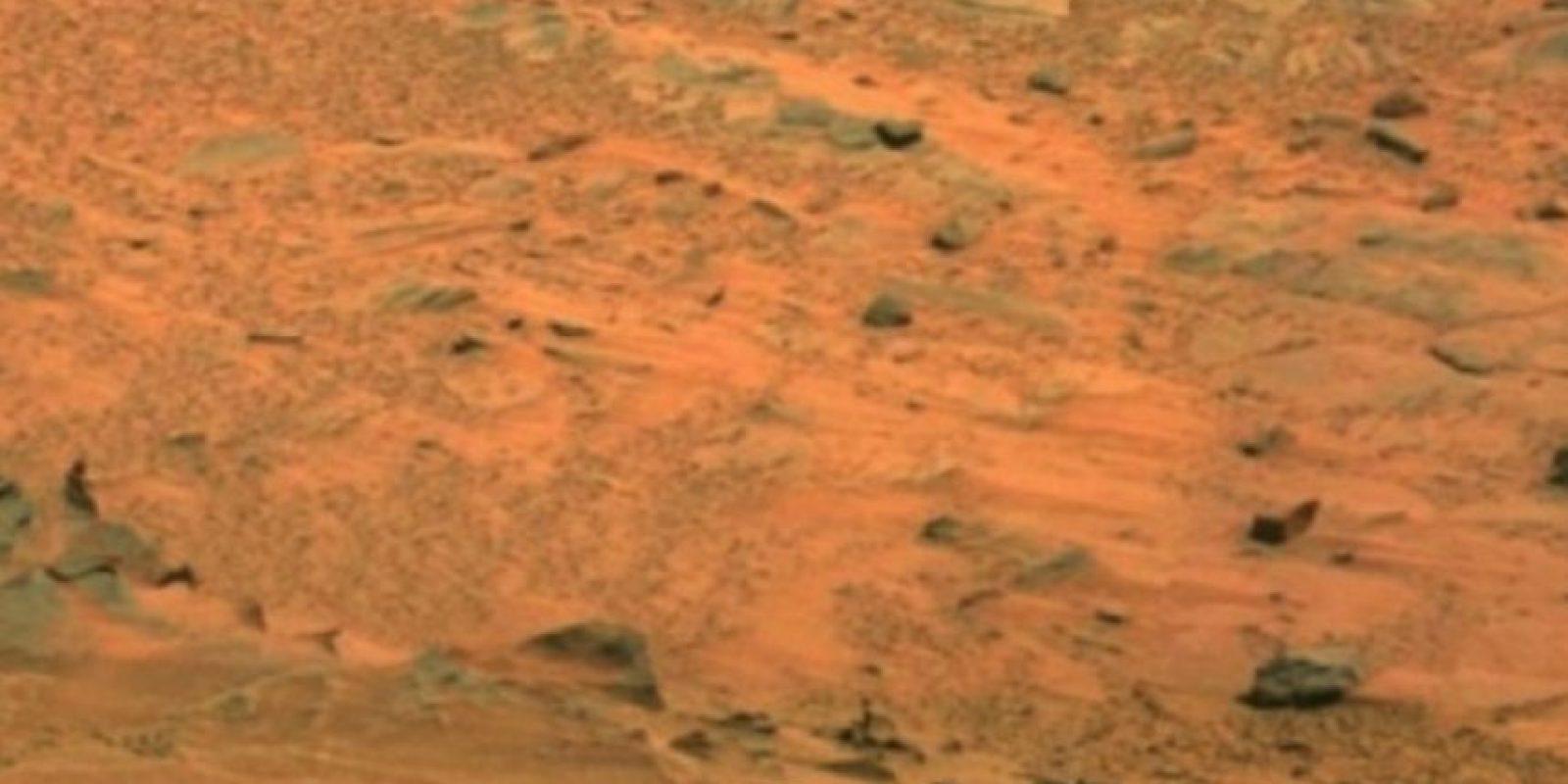 Fotografía original de la NASA, tomada por el explorador Spirit Foto:Original http://photojournal.jpl.nasa.gov/jpeg/PIA10214.jpg