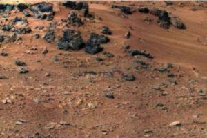 Fue descubierta en mayo de 2013 Foto:Original en http://www.nasa.gov/mission_pages/msl/multimedia/pia16204.html