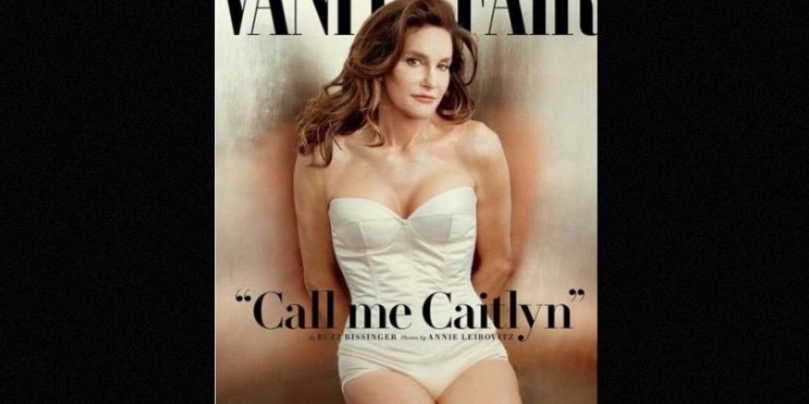 """""""Llámenme Caitlyn"""" fue el título de la portada. Foto:""""Vanity Fair"""""""