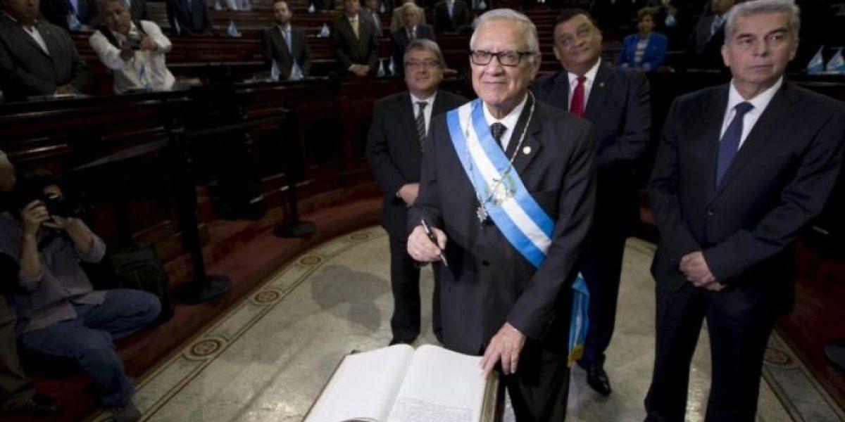 Alejandro Maldonado, el nuevo presidente de Guatemala