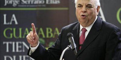 Polémico expresidente Serrano Elías dice que