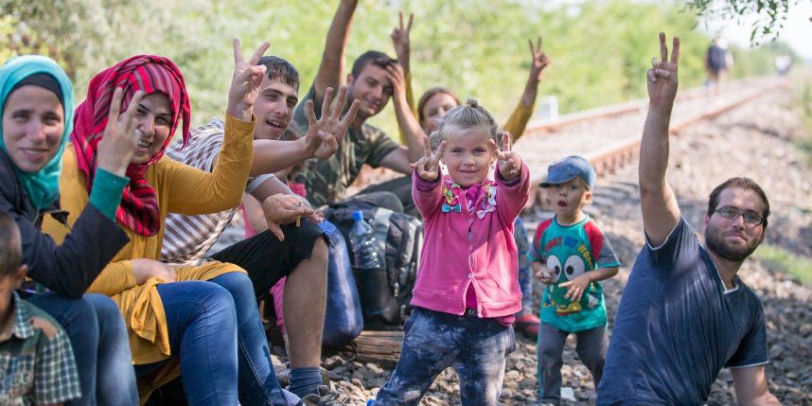 """Esta es la mayor ola de inmigración que vive el """"Viejo Continente"""" desde la Segunda Guerra Mundial. Foto:Getty Images"""