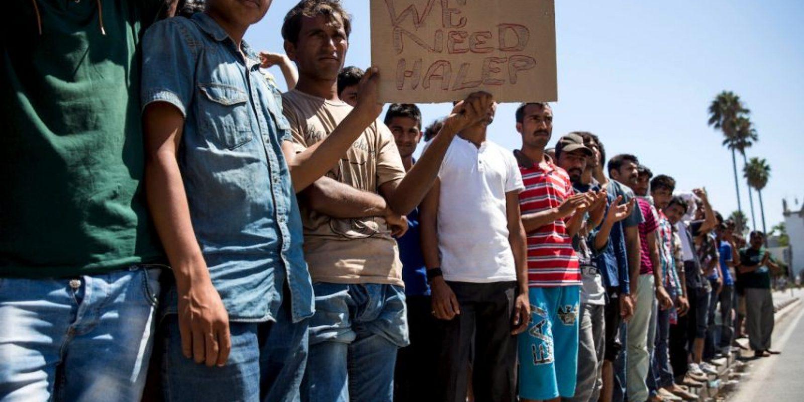 La UE está viendo cada vez más migrantes que llegan a sus costas Foto:AFP