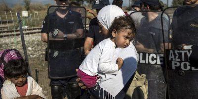 La isla griega de Kos es la más cercana a Turquía, país que recibe diariamente a miles de sirios que huyen de la guerra. Kos, y la isla de Lesbos reciben 7 mil personas diarias. Foto:Getty Images