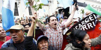 """""""Si algo está dando Guatemala es un ejemplo muy claro de que la inmunidad es algo relativo. El poder es un préstamo del pueblo y por lo tanto los políticos deben utilizarlo de manera correcta"""", explicó Alejandro Motta. Foto:AP"""