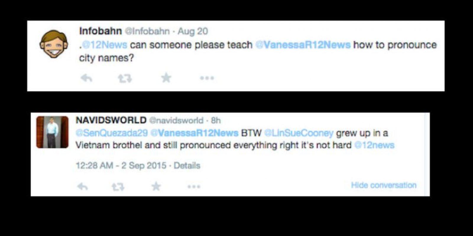 Sus haters se burlan de su acento. Le dicen que ni siquiera pronuncia bien los nombres. Foto:vía Twitter
