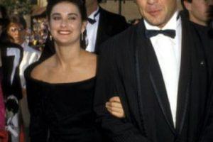 Demi Moore y Bruce Willis parecían perfectos. Hasta que se aburrieron. Foto:vía Getty Images