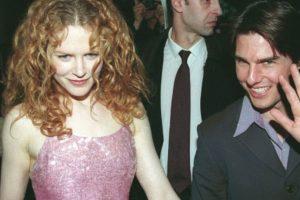 Nicole Kidman y Tom Cruise enamoraron a todo el mundo en los 90. Foto:vía Getty Images