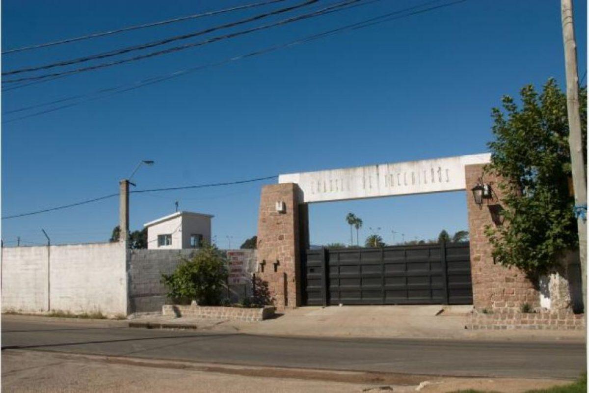 Se encuentra en la cárcel de Domingo Arena Foto:Montevideo.gub.uy