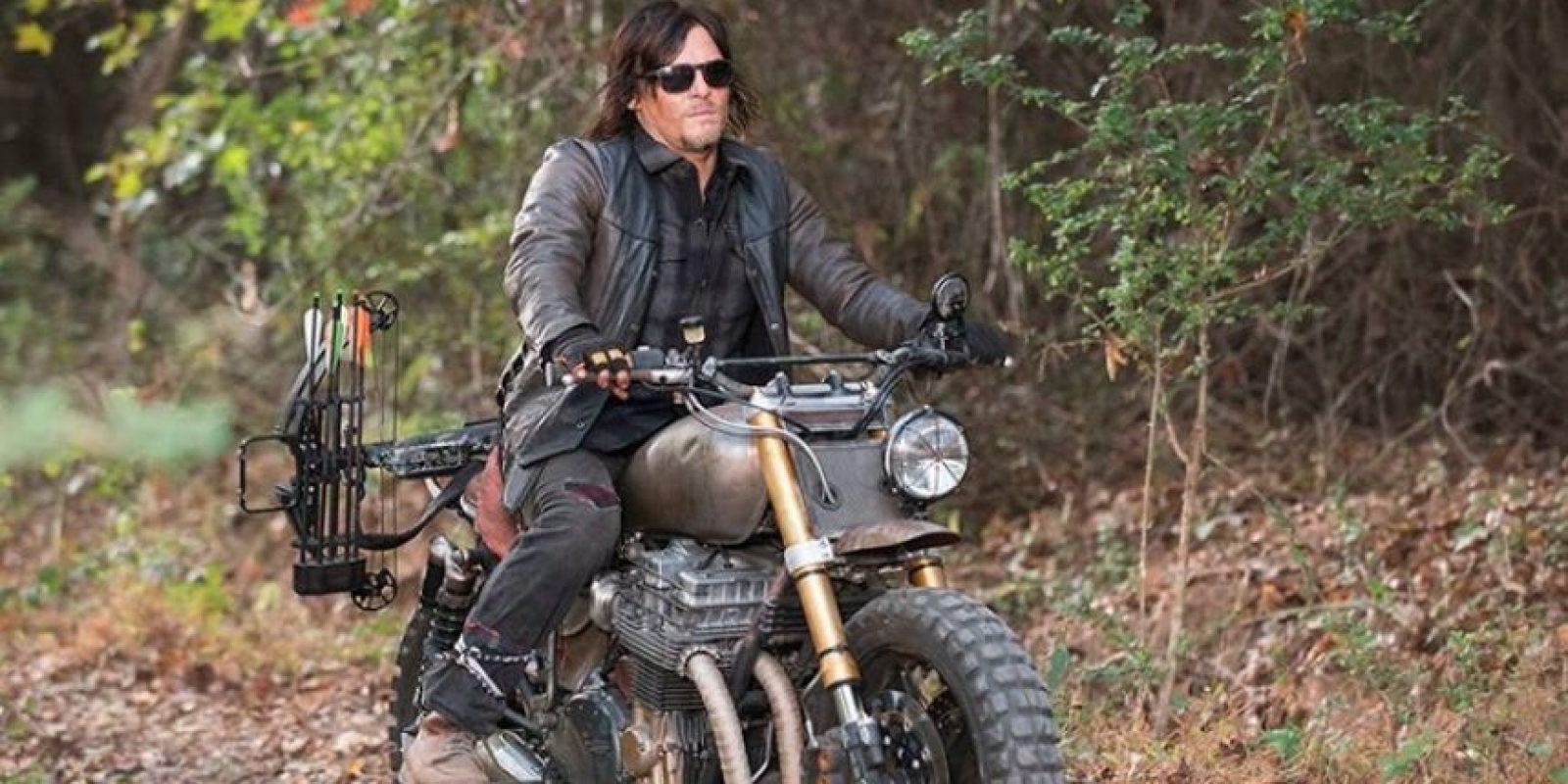 Reedus es amante de las motos. Incluso trabajo en una tienda de motos Harley Davidson en los Ángeles. Foto:IMDb