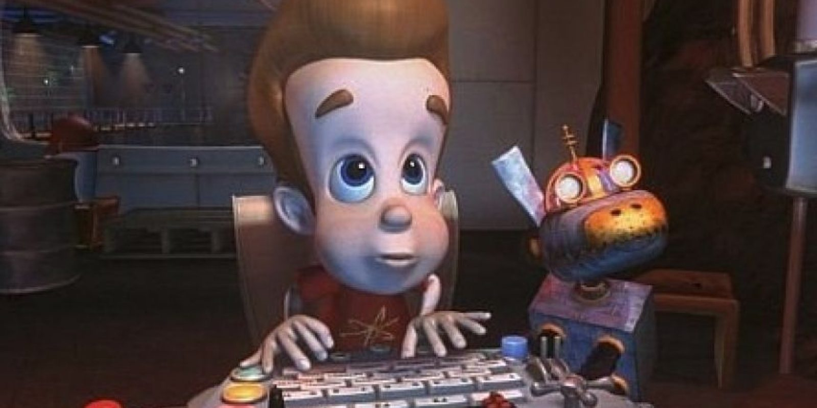 """""""Jimmy"""" era un niño genio que solía meterse en problemas por sus tecnológicas invenciones. Foto:IMDB"""