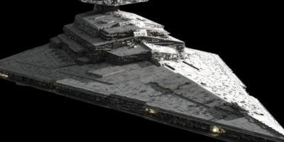 """La supuesta nave de """"Star Wars"""" encontrada en Marte Foto:Lucasfilms"""