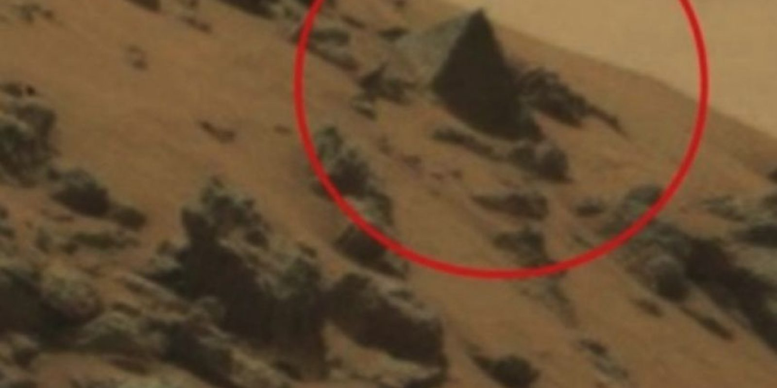 Pirámide Egipcia Foto: NASA