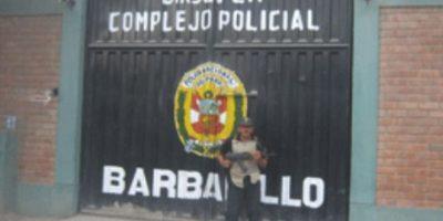 """Se encuentra recluido en el Penal del Barbadillo, donde es el único preso. """"Es el preso más caro de Perú"""", explicó el director del Instituto Nacional Penitenciario en 2013, Jose Luis Pérez Guadalupe. Foto:Policía Nacional del Perú"""