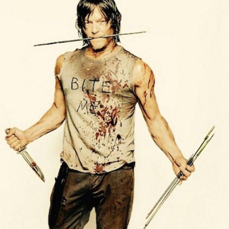"""En 2010 fue llamado para participar en la serie de """"The Walking Dead"""" para dar vida al personaje de """"Daryl Dixon"""". Foto:Instagram/bigbaldhead"""