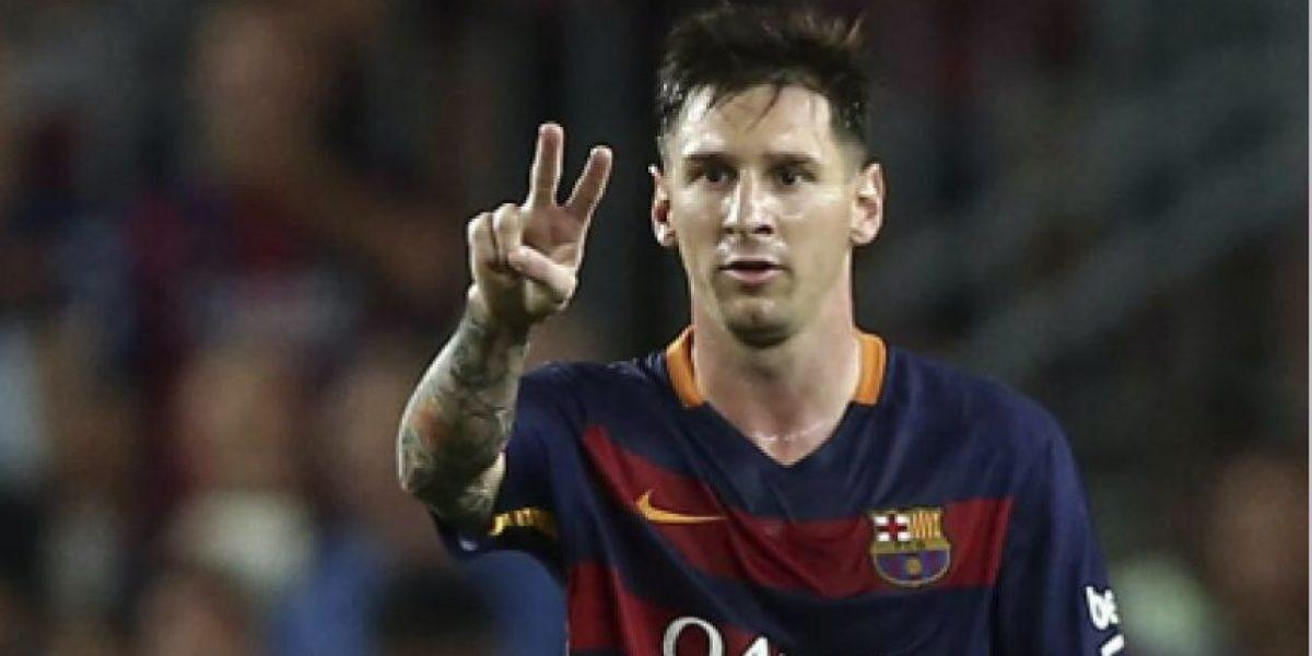 Messi no puede creer que esto ocurra en