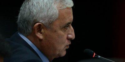 Fiscalía imputa estos tres delitos al expresidente Otto Pérez