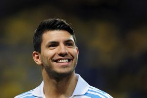 """Kun"" Aguero en 2013. Foto: Getty Images"