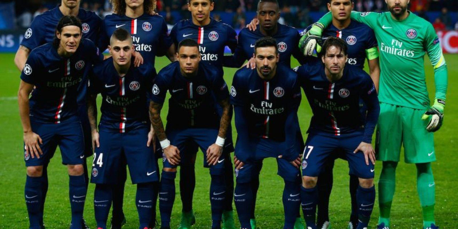 6. PSG (Francia) / 403.65 millones de euros. Foto:Getty Images