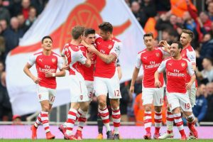 7. Arsenal (Inglaterra) / 402 millones de euros. Foto:Getty Images