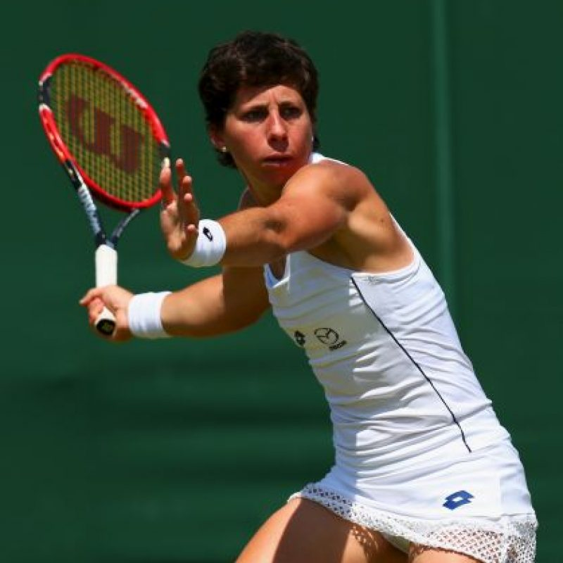 Carla Suárez Navarro (10) Foto: Getty Images