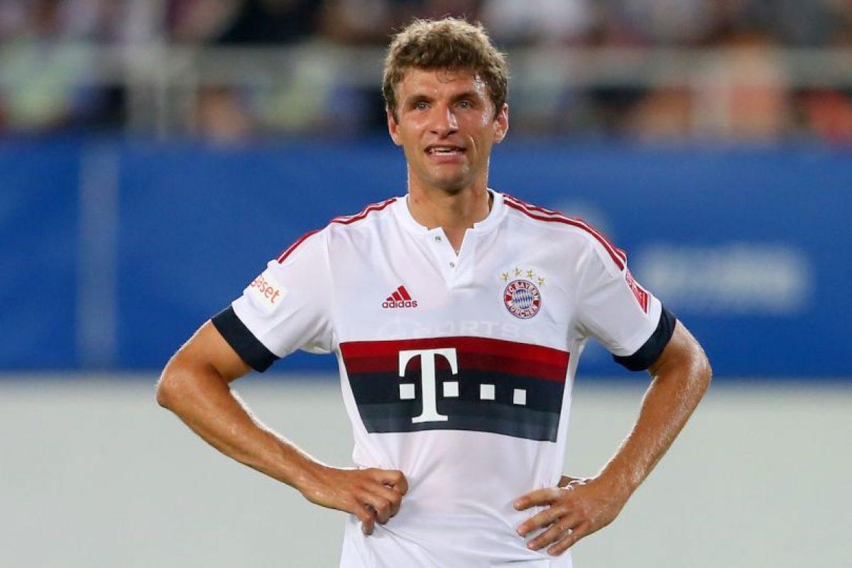 Jugadores más valiosos: Thomas Müller (55 millones de euros) y Robert Lewandowski (50 millones de euros) Foto:Getty Images