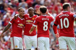 9. Manchester United (Inglaterra) / 377.25 millones de euros. Foto:Getty Images