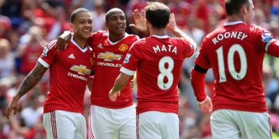 9. Manchester United (Inglaterra) / 377.25 millones de euros. Foto: Getty Images