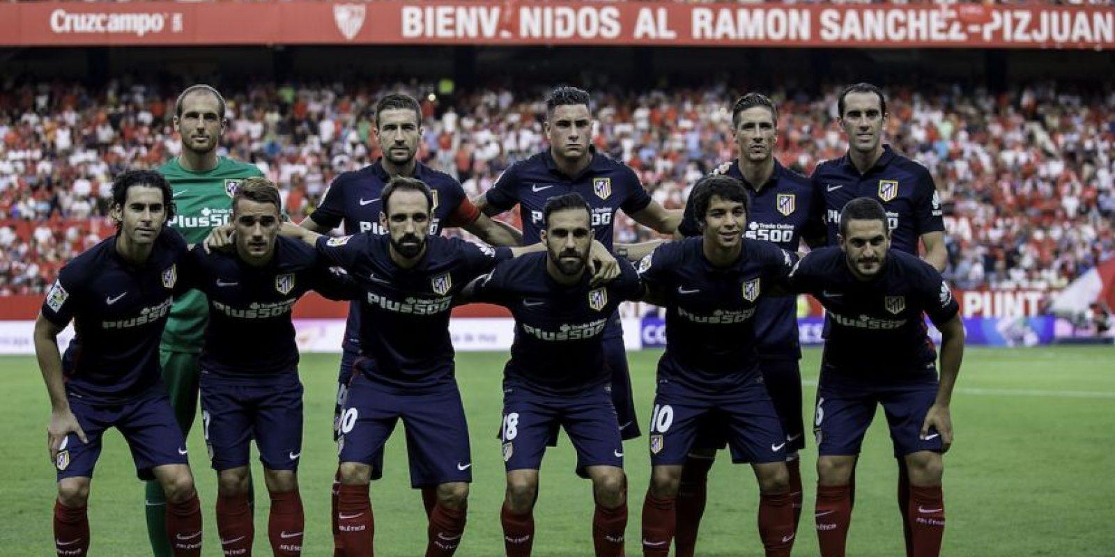10. Atlético de Madrid (España) / 340.5 millones de euros. Foto:Getty Images