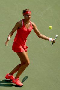 La tenista checa cayó en primera ronda frente a la ucraniana Lesia Tsurenko, número 37 de la WTA. Foto:Getty Images