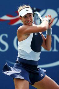 Se quedó en la segunda ronda tras ser eliminada por la número 97 del mundo, la británica Johanna Konta. Foto:Getty Images