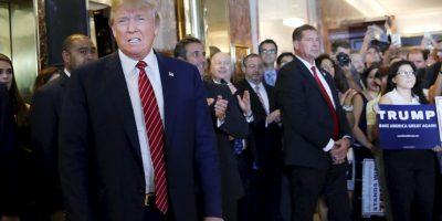 """""""Durante muchos años, los líderes de México se han aprovechado de los Estados Unidos, utilizando la migración ilegal para exportar el crimen y la pobreza de su propio país (al igual de que otros países de América Latina)"""", indicó Trump. Foto:Getty Images"""