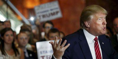 Trump aprueba deportar a los migrantes sin documentos que tengan antecedentes legales. Foto:Getty Images