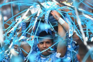 En 2014 volvió a ganar la Premier League con el Manchester City. Foto: Getty Images