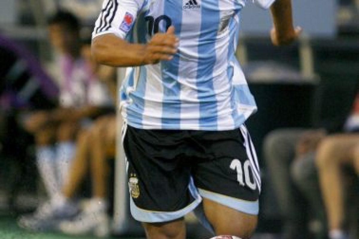En 2007 participó con su selección en el Mundial Sub-20. Foto:Getty Images