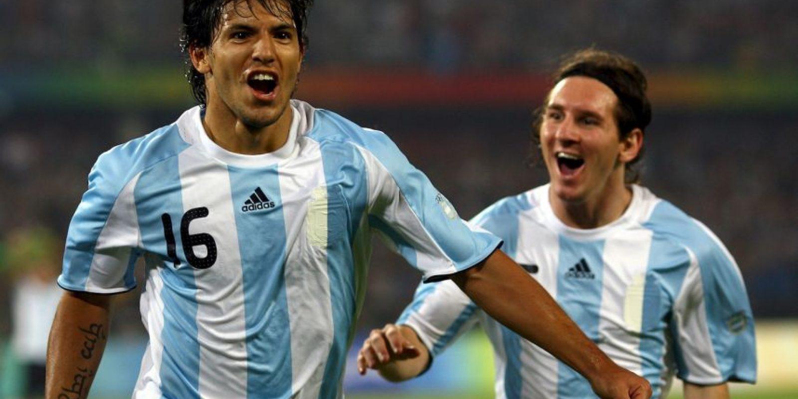 Acudió con Argentina a los Juegos Olímpicos de Pekín 2008, en los cuales ganó la medalla de oro. Foto:Getty Images