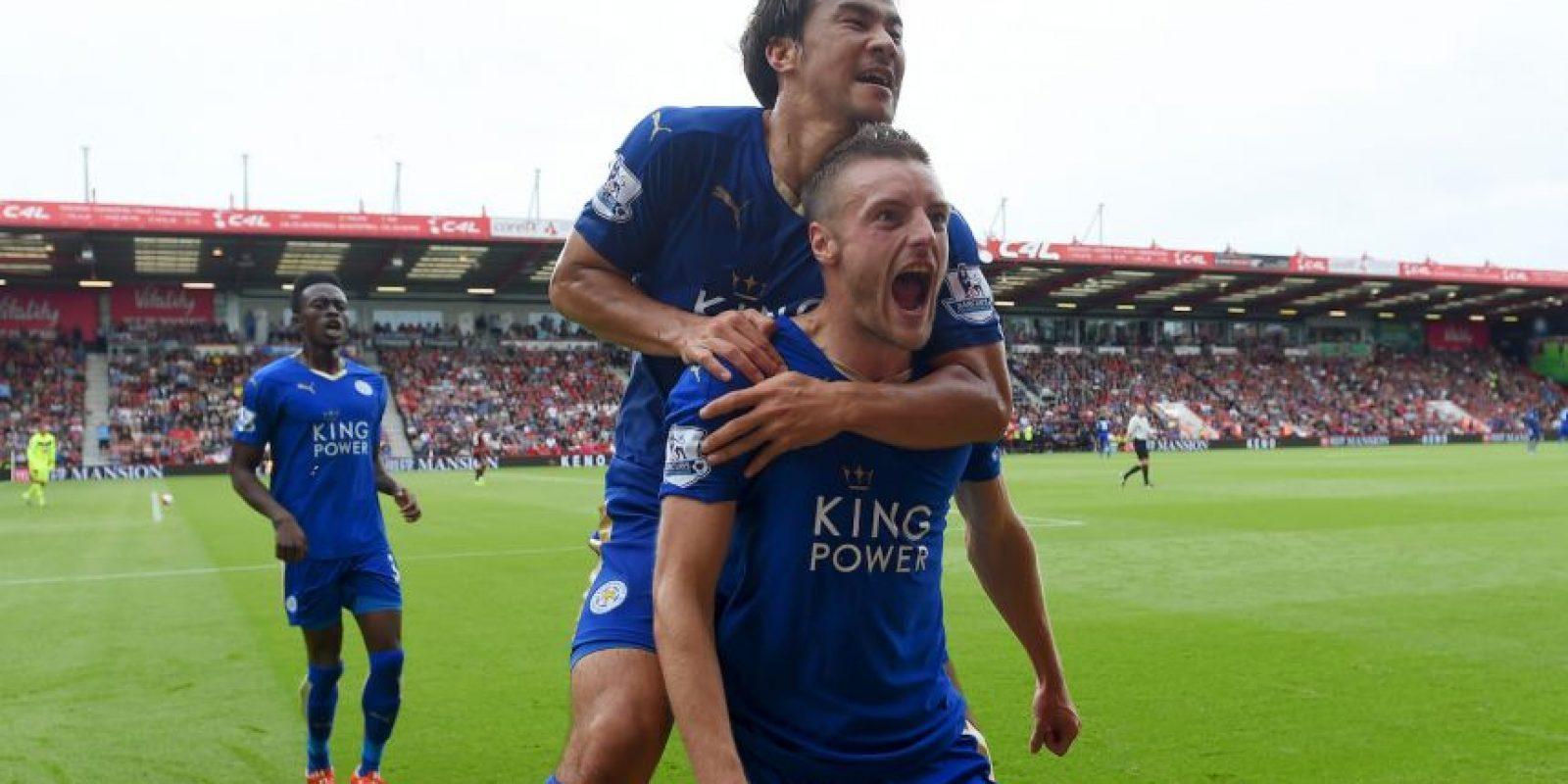 El Leicester es el combinado que más edad registra en Inglaterra Foto:Getty Images