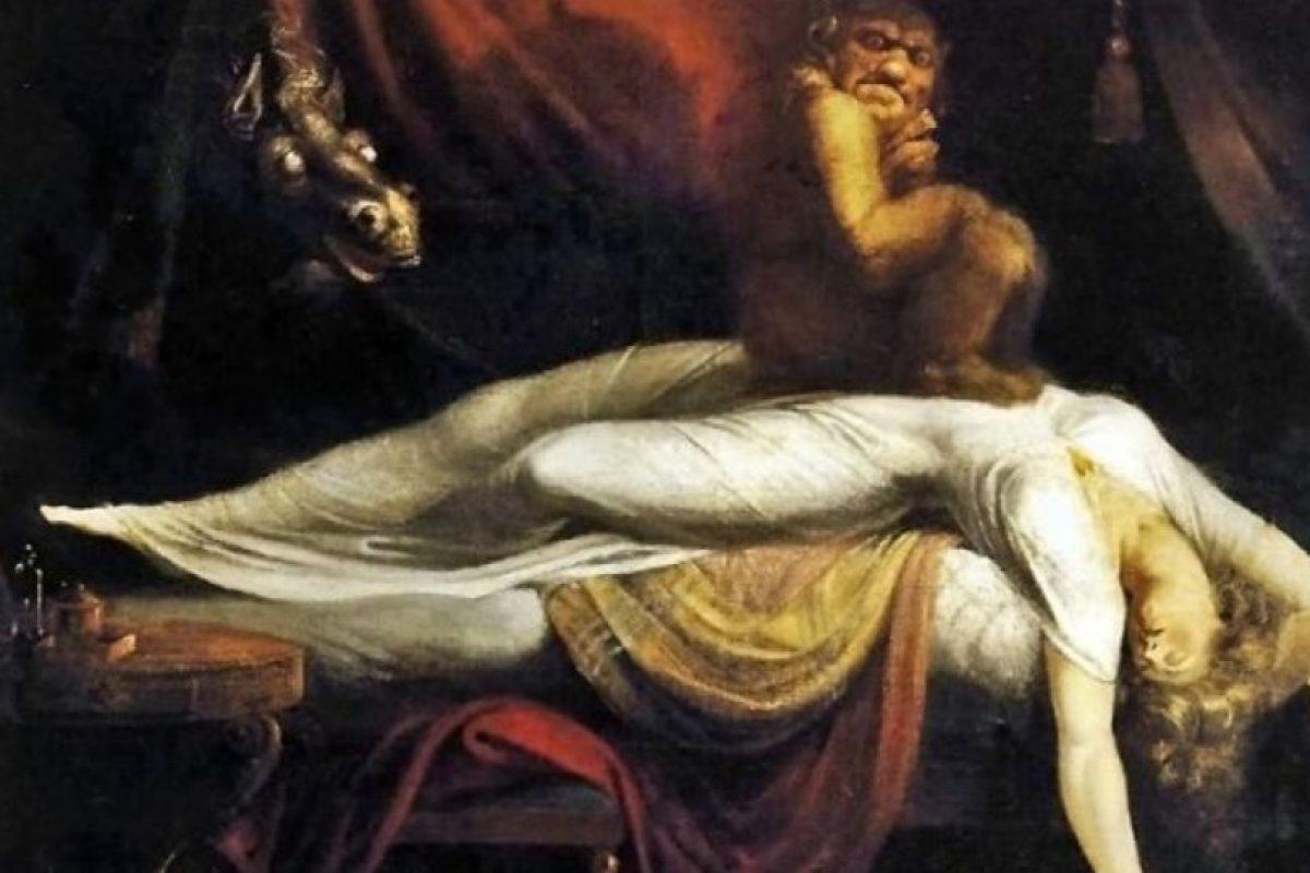 Ha estado durante siglos en todas las culturas. Muchos coinciden: un demonio que oprime el pecho. Foto:vía Wikipedia