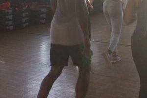 """Como en esta ocasión que publicó una foto de él durante una clase de aeróbicos con el mensaje: """"Siempre preguntan como hago para que ganar parezca tan fácil. La respuesta simple es que nunca digo que no al trabajo"""". Foto:Vía instagram.com/usainbolt"""