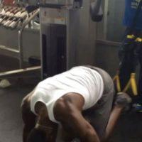 """Bolt también hace entrenamientos de core, es decir, fortalecer el """"núcleo"""" de su cuerpo, los músculos abdominales, los de la cadera y espalda baja. Con ello, el jamaquino buscaba reducir el riesgo de lesiones. Foto:Foto: Vía instagram.com/usainbolt"""