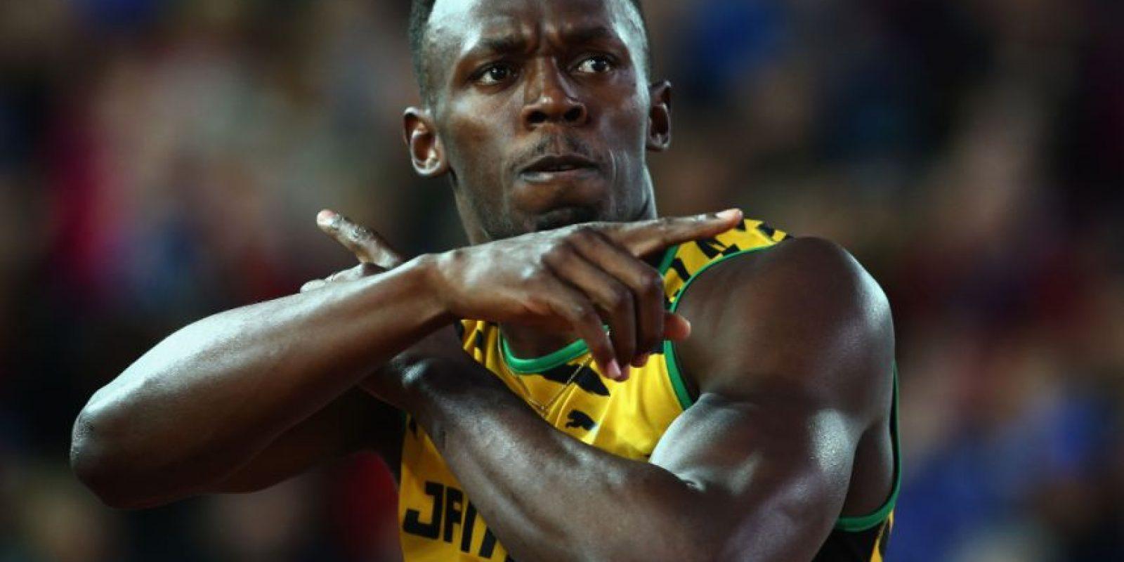 El velocista también reconoce que parte fundamental de su éxito es tener una alimentación sana. Foto:Getty Images