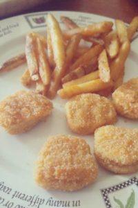 De hecho, durante Beijing 2008, el jamaiquino reveló que se alimentó a base de nuggets y papas fritas. Foto:Vía instagram.com/explore/tags/nuggets