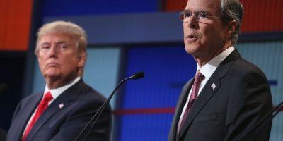 Donald Trump critica a Jeb Bush por hablar español