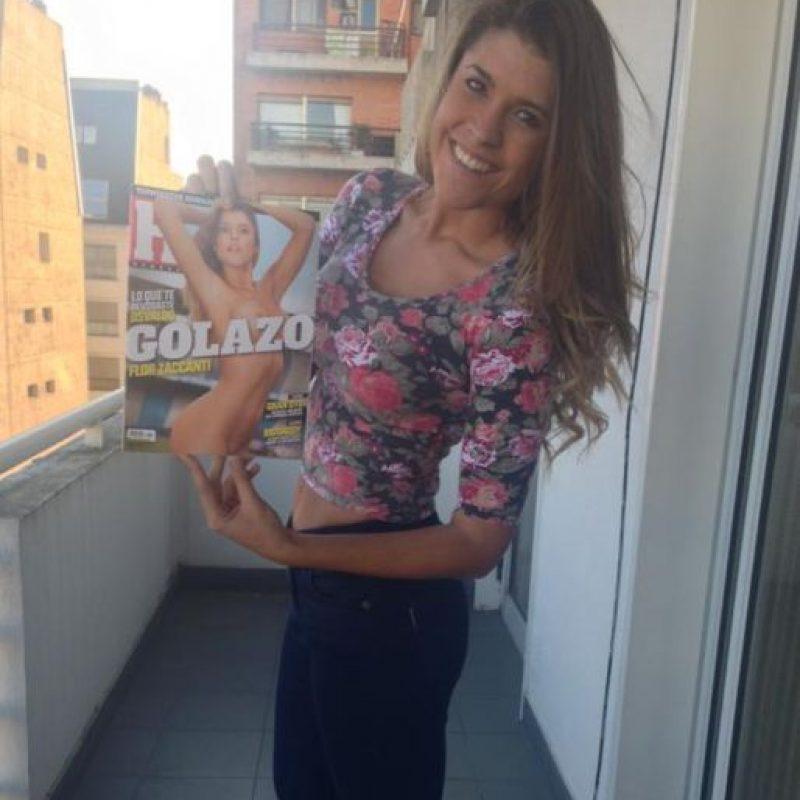 """Fue una de las concursantes más polémicas del programa """"Gran Hermano"""" Foto:Vía: twitter.com/florzaccanti"""